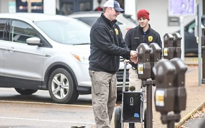 Monthly parking meter revenue almost doubles since 2015