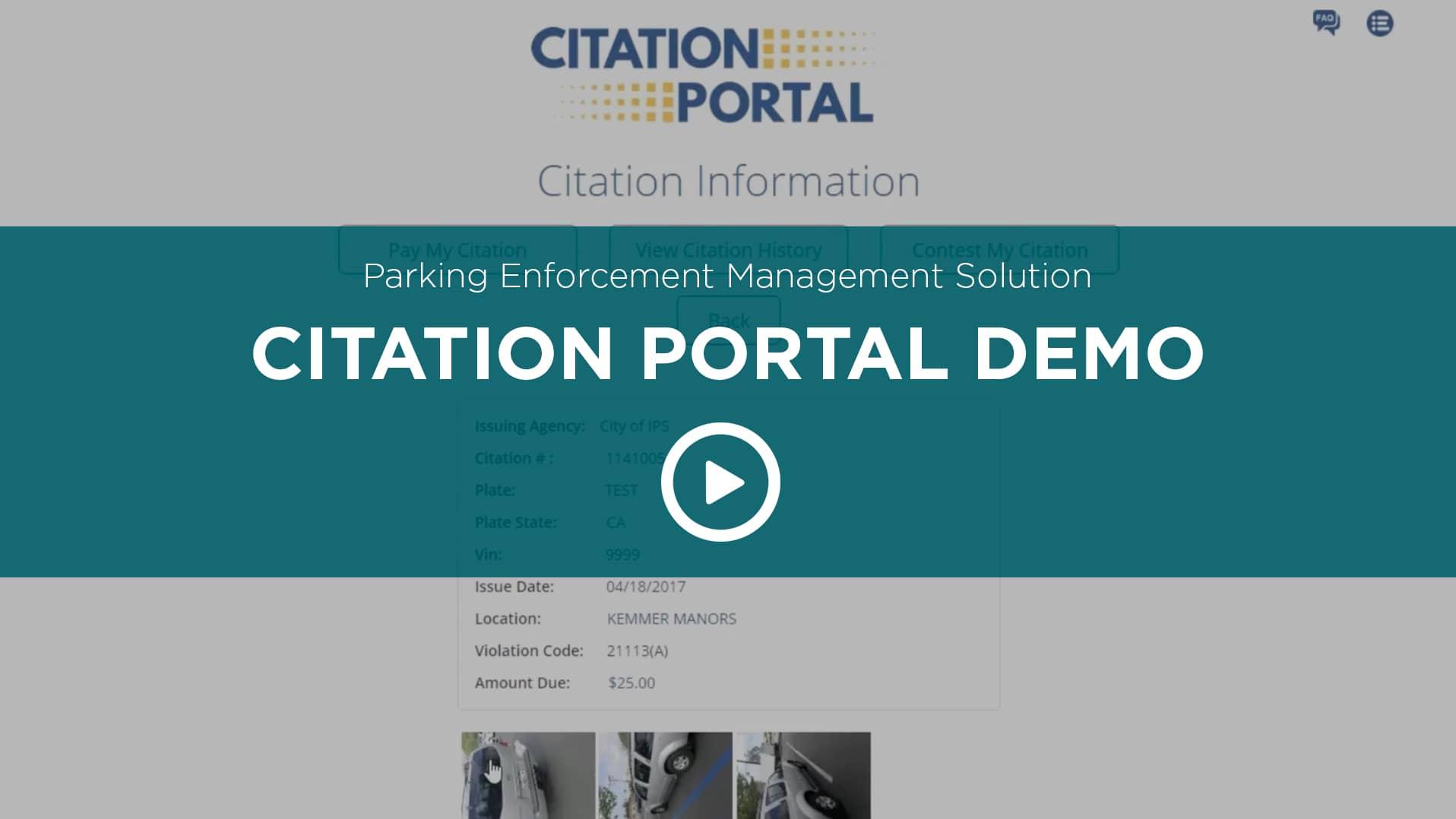 Citation Portal Demo