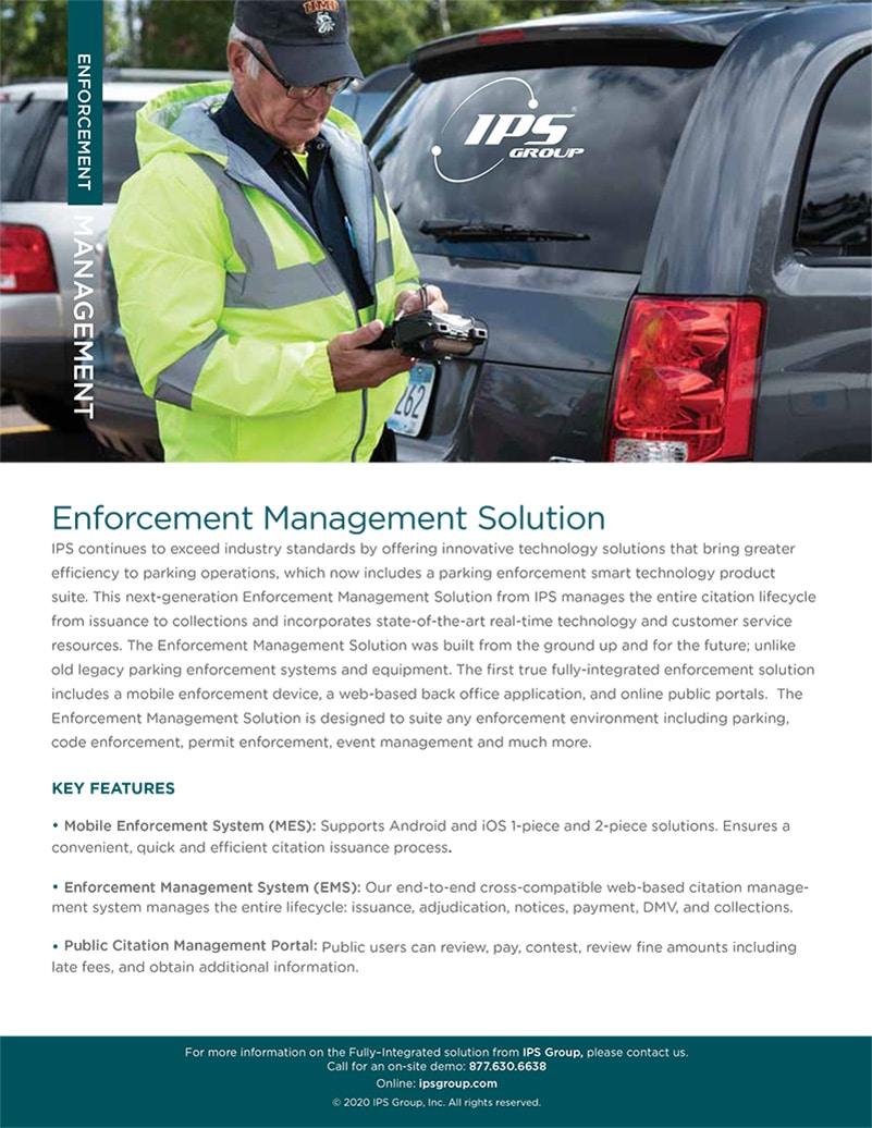 Enforcement Management