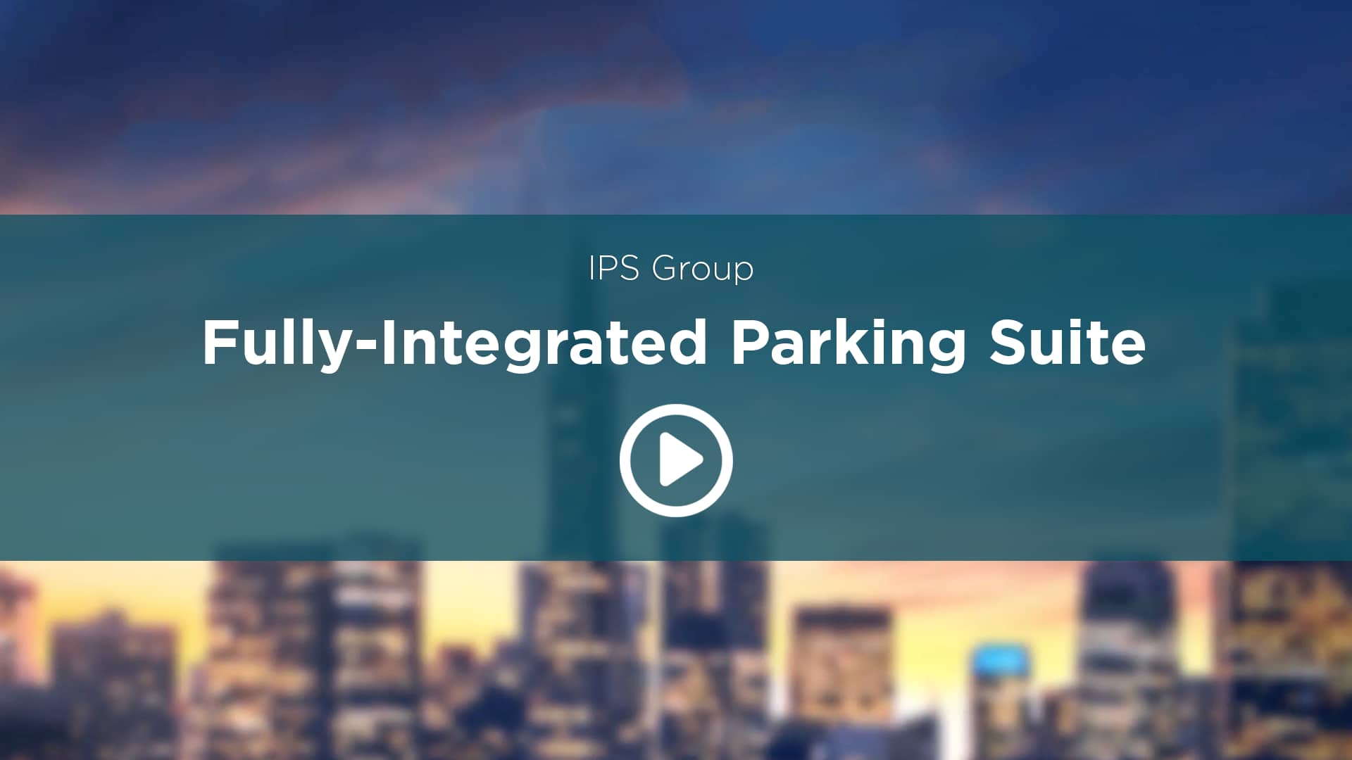 IPS Fully Integrated Parking Management Suite