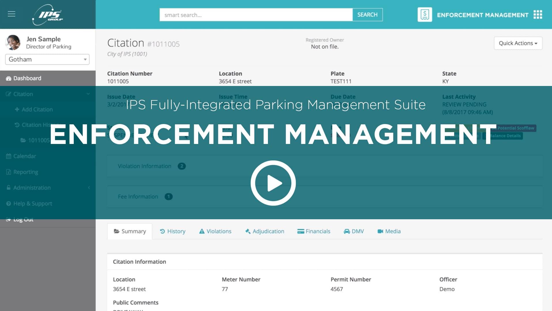 IPS Group Enforcement Management