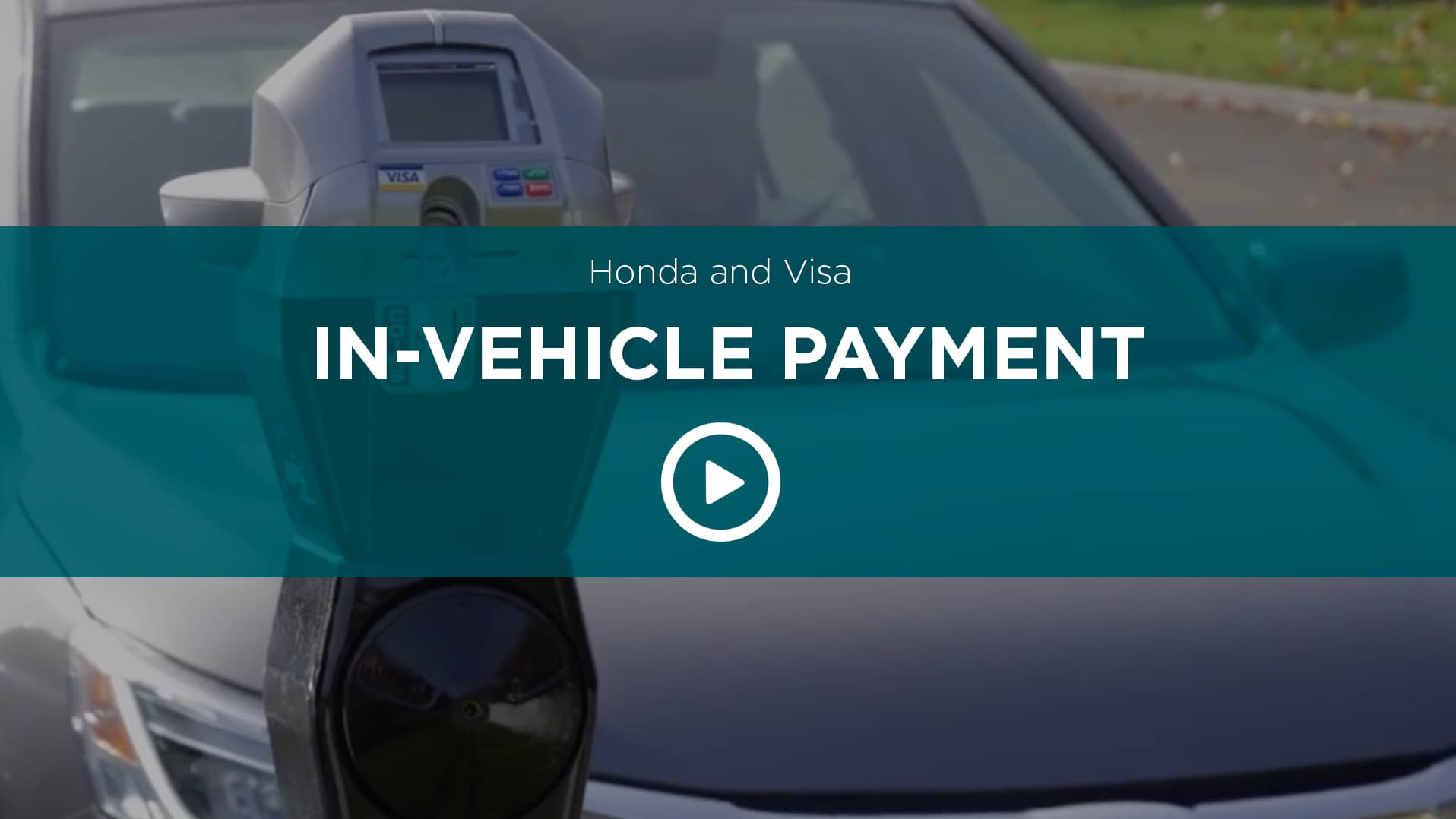 In Vehicle Payment Parking
