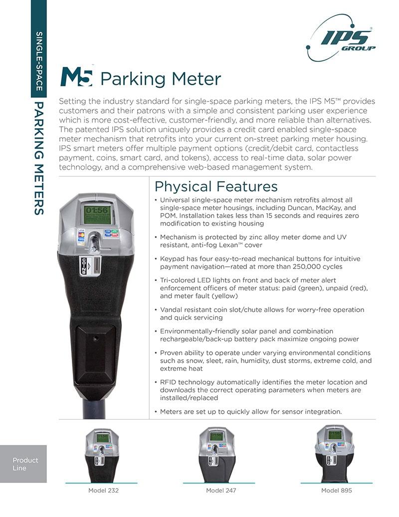 M5 Parking Meter