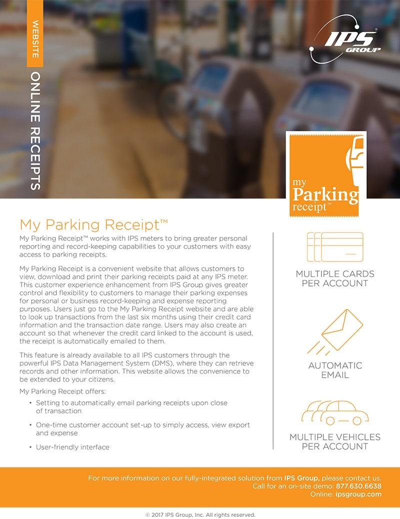 My Parking Receipt™