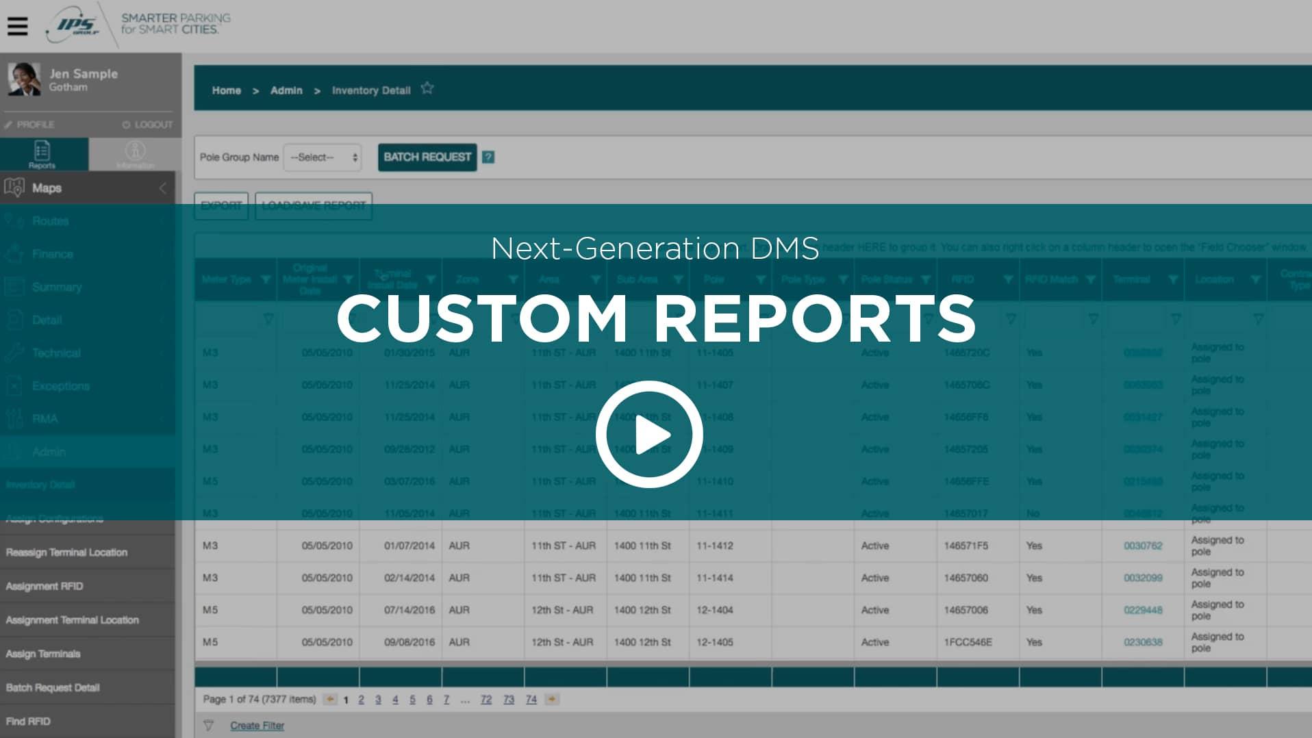 Next Generation DMS Custom Reports