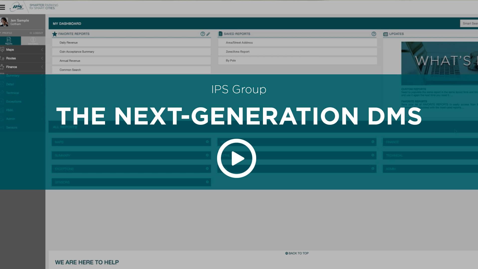 Next Generation DMS