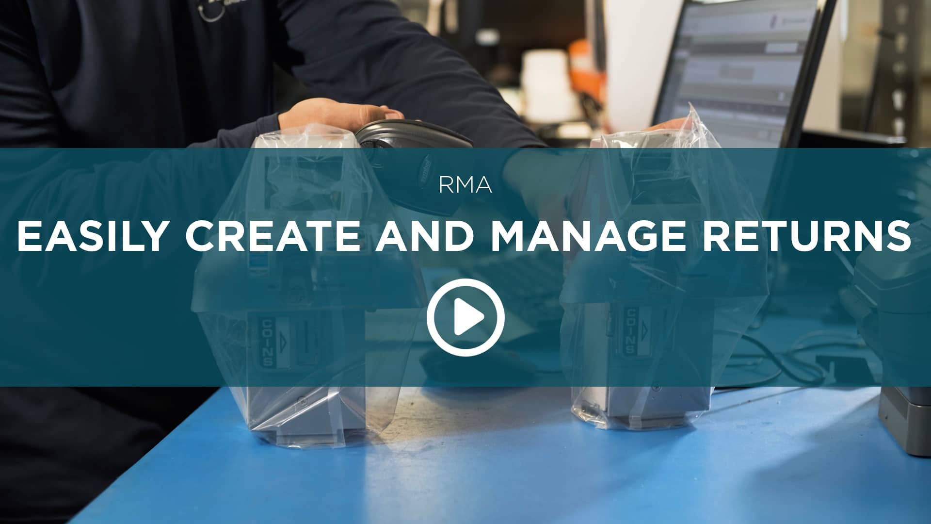Easily Create and Manage Returns